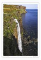 Kilt Rock waterfall, Isle of Skye Scotland UK