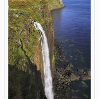 """Kilt Rock waterfall, Isle of Skye Scotland UK"" by ActiveImagePhotography"
