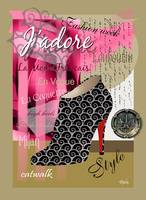 Stylish French Stiletto Collage (light)