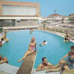Eden Roc Motel Retro Pool Photograph from 1960, Wi Prints & Posters
