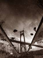 St. Johns Bridge, escheresque