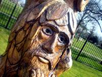The Green Man - Dovecote Lane Park