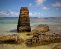 Hawaiian Stone Monoliths