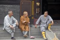 Three monks