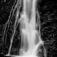 waterfall10bw Art Prints & Posters by Daniel Deutsch