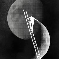 Light Side of the Moon by rob dobi