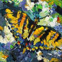 Impressionist Swallowtail Butterfly