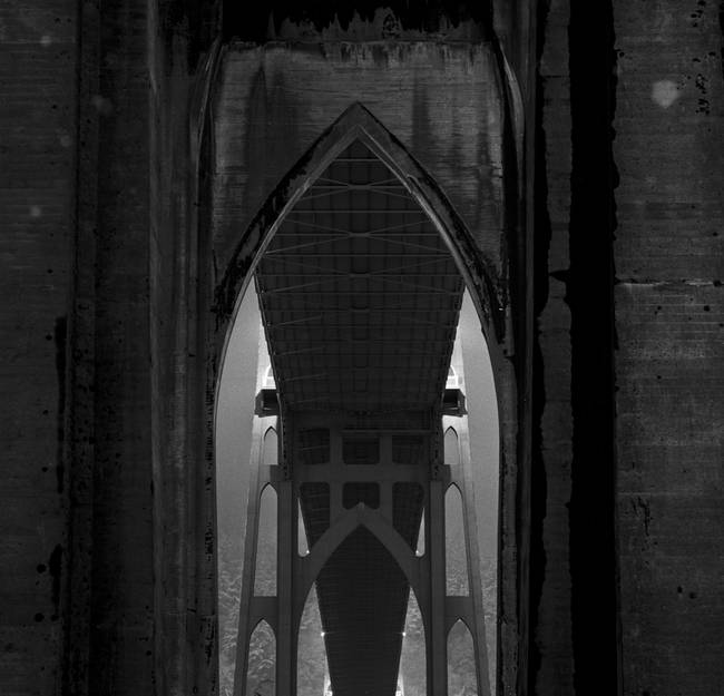 St. Johns Bridge, arches