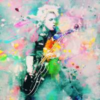 Green Day Art Prints & Posters by Rosalina Atanasova