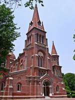 Cathedral in Lahore Pakistan View 1