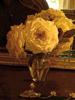 White flower and Antique Mirror