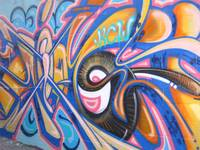 Kansas City Graffiti Swirl