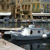 Symi afternoon Art Prints & Posters by David Anderson