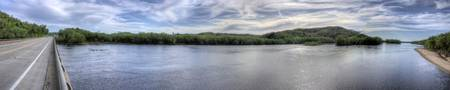 Wisconsin River Panorama