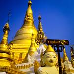 Shwedagon Pagoda in Burma