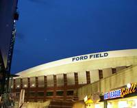 Ford Field at Night