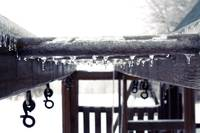 Icicles on the Monkey Bars