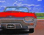 1962 Ford Thunderbird - Red