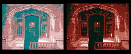 Diptych C-Shop Doorway