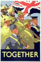 'Together', 2nd World War poster (colour litho) by