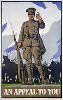 'An Appeal to You', World War I recruitment poster