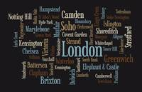London Text Map