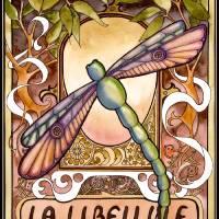 La Libellule Art Prints & Posters by Peg Lozier