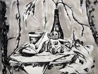 ART120 - Ink Skewer Drawing - Still Life