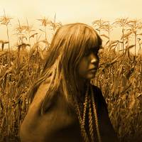 Mohave Indian Girl in Cornfield by I.M. Spadecaller