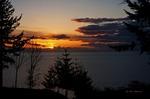 Sunset Over Puget Sound by Alan Sachanowski