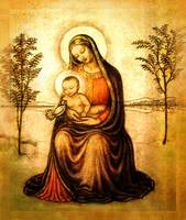 M 4 Madonna with Dove