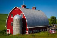 Palouse Red Barn #1