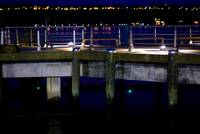 Lights on a Dock