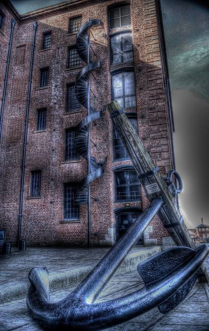 ALBERT DOCK ANCHOR