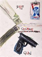 Beer, Cocaine, Gun