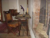 Writing Desk in Living Quarters
