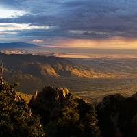 """Sunset Monsoon over Albuquerque"" by mtilghma"