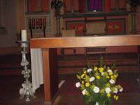 Altar Flowers at Easter