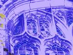 Tracery in Purple at Bond Chapel