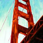 The Great Bridge San Francisco by RD Riccoboni