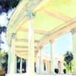 Spreckles Organ Pavilion Colonadde by RD Riccoboni