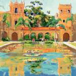 Reflections Balboa Park San Diego by RD Riccoboni