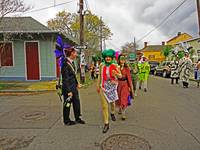 St. Anne Parade on Mardi Gras Day #7