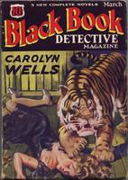 Black Book Detective March 1934