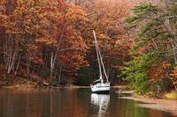 Autumn Scenery at Chesapeake Bay