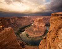 Desert Sunrise at Horseshoe Bend