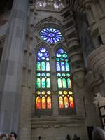 Windows at La Sagrada Familia Basilica