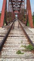 Tracks over the Brazos