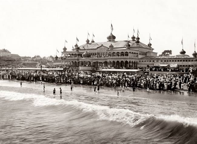 Neptune Casino at Santa Cruz Beach c1890