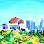 View of Los Angeles from Griffith Park by RD Riccoboni